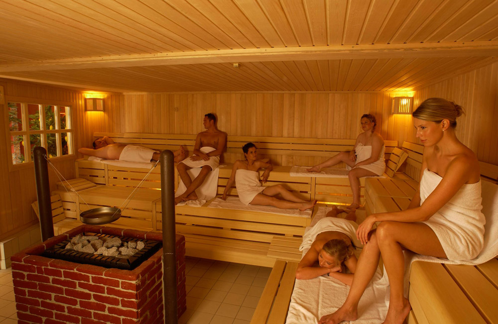 Баня традиционно является местом релаксации