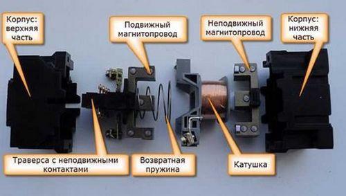Схема магнитного пускателя катушкой фото 345