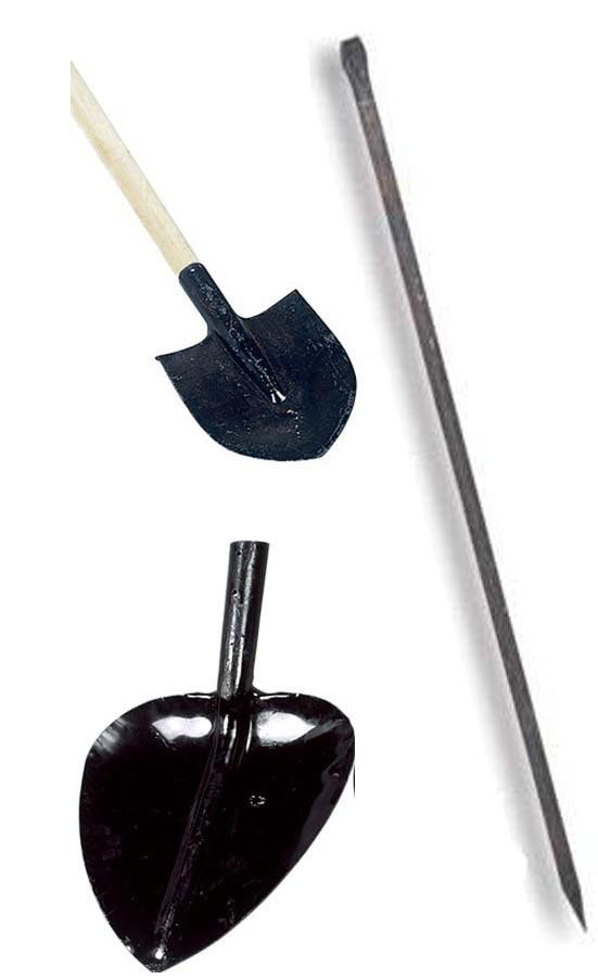 Инструменты для земельных работ вручную