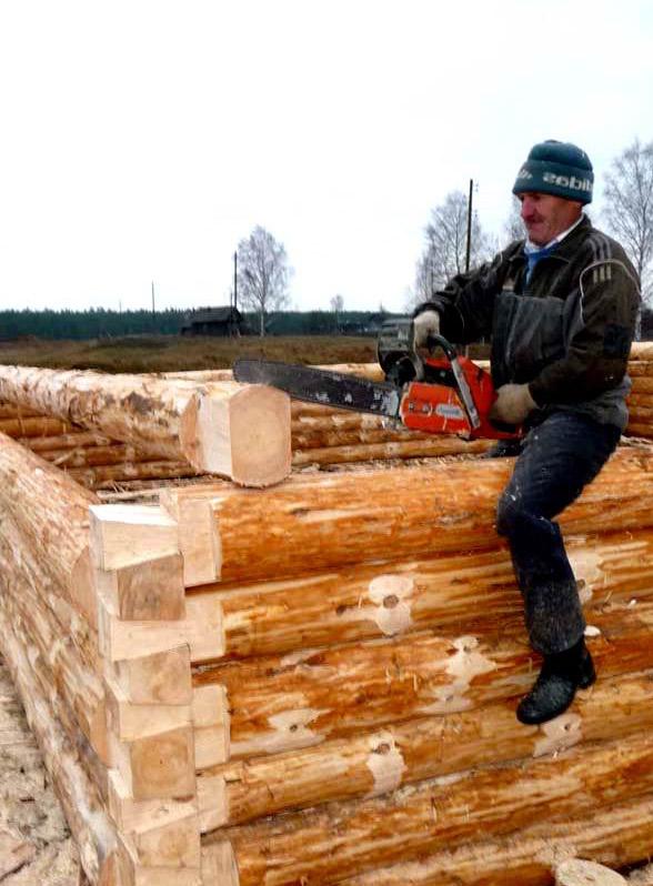 В строительстве должен принимать участие профессиональный плотник