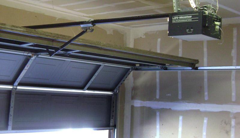 Автоматика привода секционных гаражных ворот