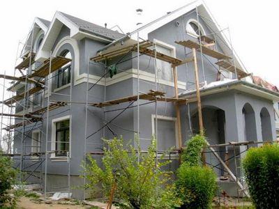 Силиконовые краски для фасадов по штукатурке