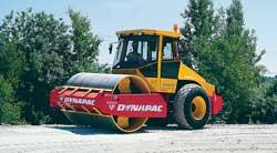 Гладковальцовый виброкаток CA 402 фирмы DYNAPAC