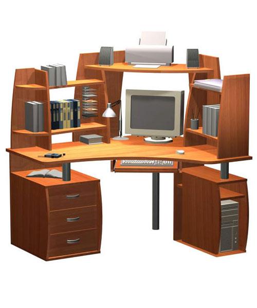Пример компьютерного стола