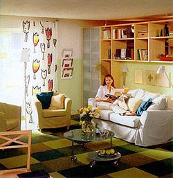 Маленькая квартира - вовсе не тесная.