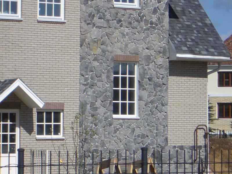 Использование натурального камня в отделке дома
