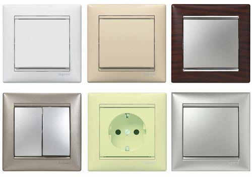 Как выбрать розетки и выключатели. Правила выбора розеток и выключателей