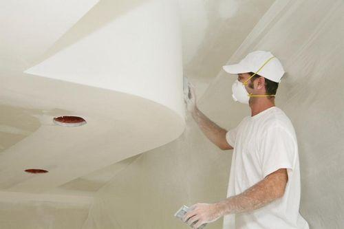 Как шпаклевать потолок своими руками новичку 18