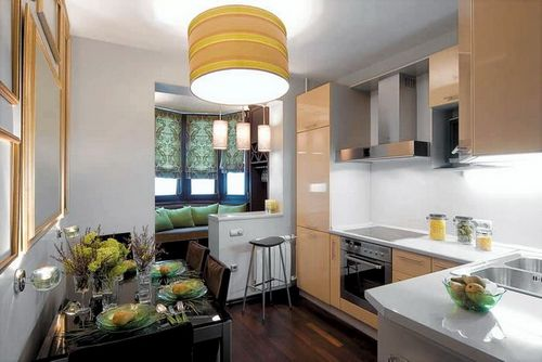 Кухня на балконе: особенности перепланировки