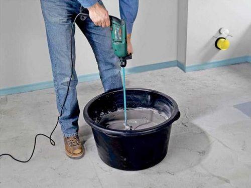 Наливной пол для гаража: выбор, расчет, подготовка поверхности, заливка раствора