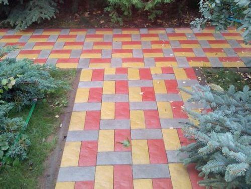 Тротуарная плитка английский булыжник: варианты и технология укладки