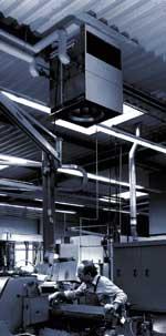 Устройство воздухораспределения HOVAL Air Injector агрегата LHV