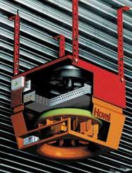 Рециркуляционный агрегат DHV для нагрева/охлаждения помещений с высокими потолками