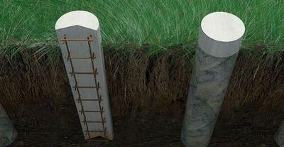 Столбчатый фундамент под беседку с барбекю камины дровяные mustang